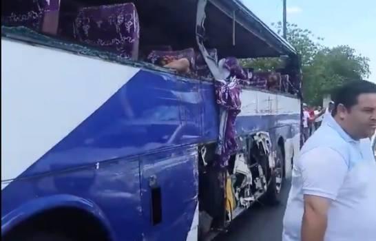 Al menos tres muertos en accidente de tránsito en Carretera Baní-Azua