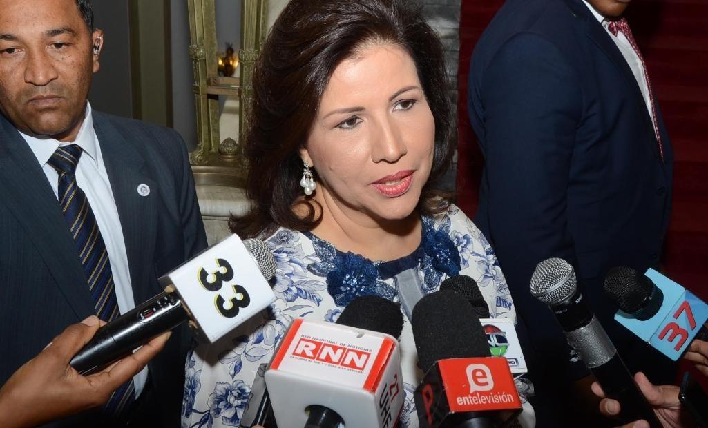 Margarita Cedeño está de acuerdo MP actúe frente a denuncias de corrupción