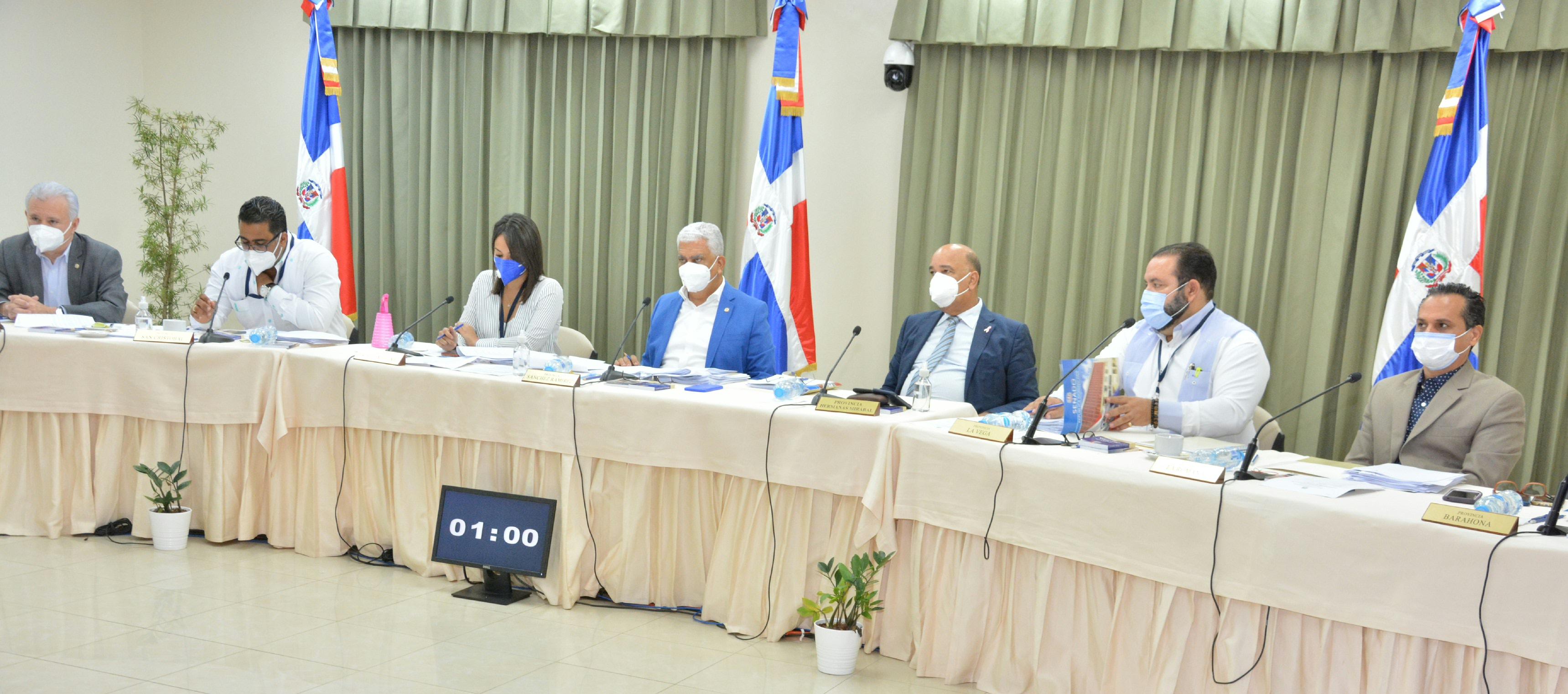 Proceso.com.do :: Comisión del Senado finaliza entrevistas a postulantes a  miembros del pleno de la JCE
