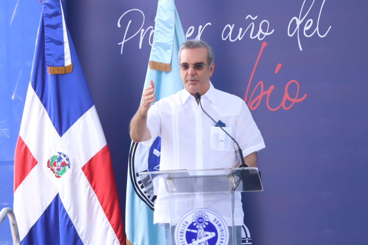 Proceso.com.do :: Presidente Luis Abinader proclama en su Gobierno no se  roba